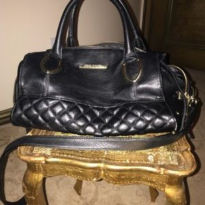 Steve Madden black leather purse